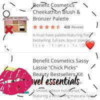 Benefit Cosmetics Cheekathon Blush & Bronzer Palette uploaded by Monica R.