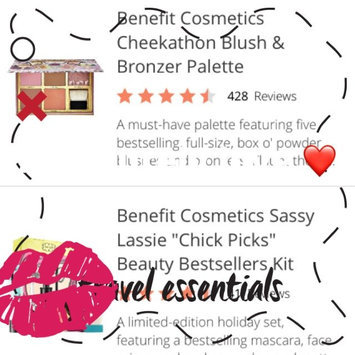 Benefit Cosmetics Cheekathon Blush & Bronzer Palette uploaded by Monica R.