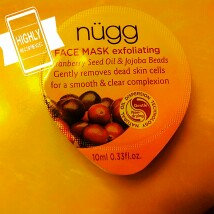 nügg Exfoliating Face Mask uploaded by Tiffany A.