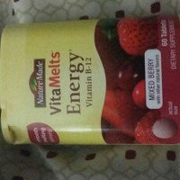 Nature Made VitaMelts Energy Vitamin B-12 500mcg uploaded by R L.