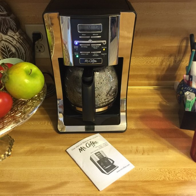 Mr. Coffee 12-Cup Programmable Coffee Maker uploaded by Denise B.