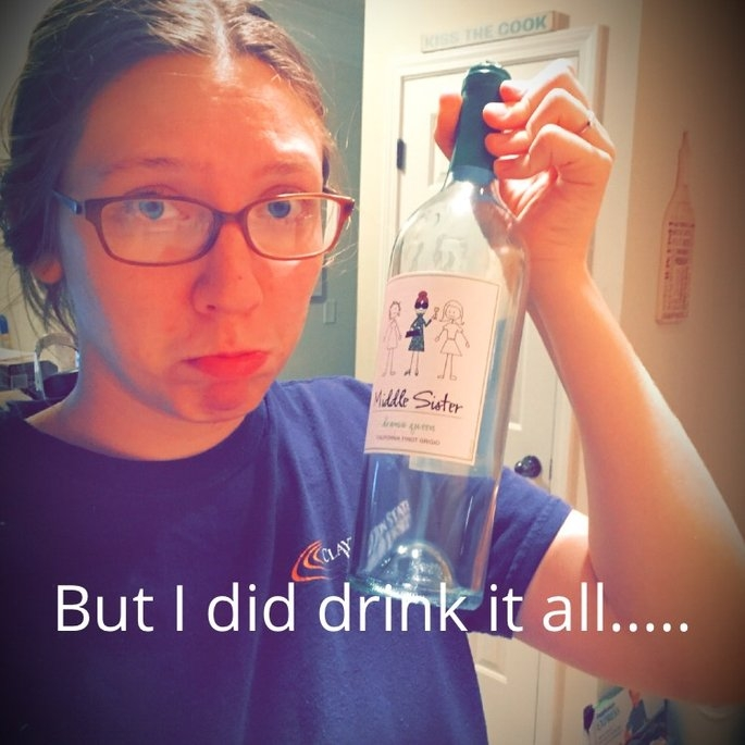 Middle Sister Drama Queen Pinot Grigio 750 ml uploaded by Samantha D.