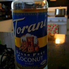 Torani Sugar Free Coconut Syrup, 750mL uploaded by Violet S.