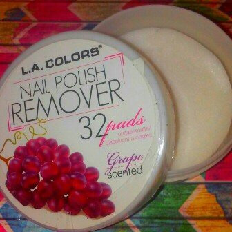 Photo of L.A. Colors Nail Polish Remover Pads uploaded by Lace l.