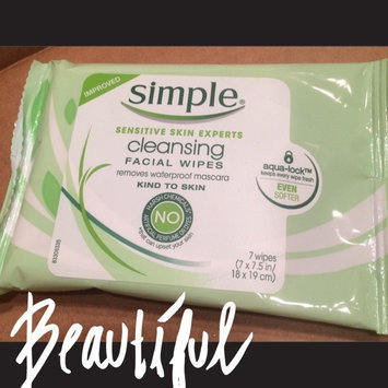 Photo of Simple Oil Balancing Cleansing Wipes uploaded by Jillian W.