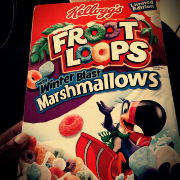 Kellogg's Froot Loops Cereal uploaded by Lyneia B.
