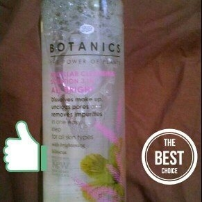 Boots Botanics All Bright Micellar 3 in 1 Cleansing Solution uploaded by Eva S.