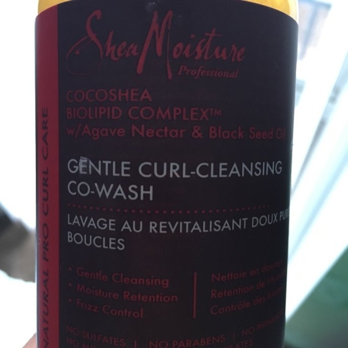 SheaMoisture Professional Gentle Curl Cleansing Co-Wash uploaded by Tamela F.