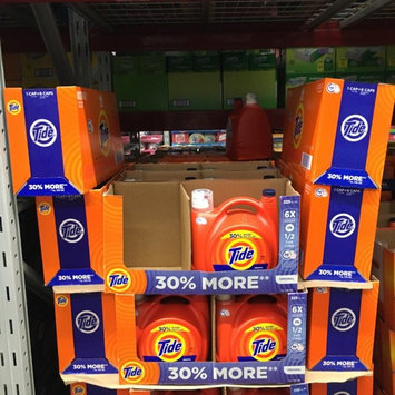 Photo of Tide Original Scent HE Turbo Clean Liquid Laundry Detergent uploaded by Renee E.