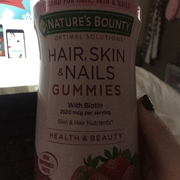 Nature's Bounty Optimal Solutions Hair, Skin and Nails Gummies - 220 Count uploaded by Savannah W.