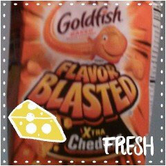 Photo of Goldfish® Flavor Blasted Xtra Cheddar Baked Snack Crackers uploaded by Michelle D.
