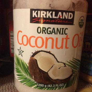 Photo of Kirkland Signature Organic Virgin Coconut Oil Cold Pressed Unrefined 42.3 Fl oz uploaded by Katy S.