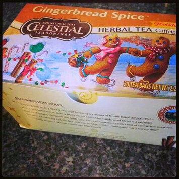 Photo of Celestial Seasonings® Holiday Herbal Tea Gingerbread Spice Caffeine Free uploaded by Darlene M.