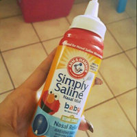 ARM & HAMMER™ Simply Saline™ Baby Nasal Relief Nasal Mist uploaded by Angelina A.