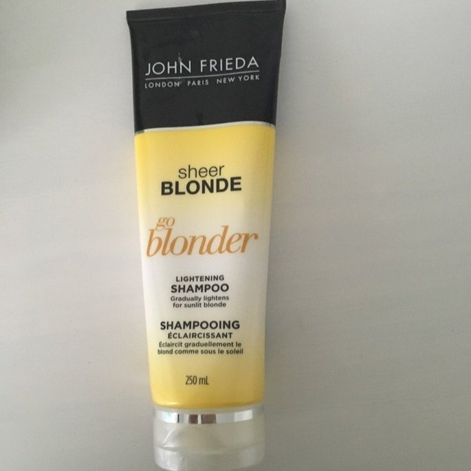 John Frieda Sheer Blonde Go Blonder Lightening Shampoo uploaded by Gracie R.