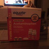 Equate Extra Strength Value Pack Acetaminophen, Non Aspirin uploaded by Jessica W.