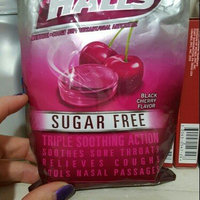 Halls® Sugar Free Black Cherry Flavor Cough Suppressant/Oral Anesthetic Menthol Drops 30 ct Bag uploaded by Heather S.