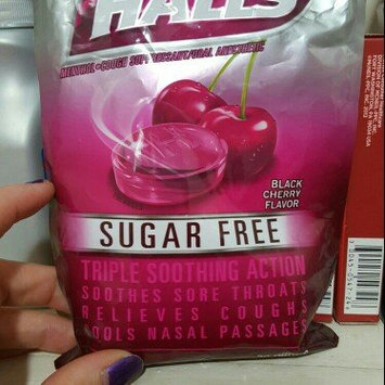 Photo of HALLS Sugar Free Black Cherry Cough Menthol Drops uploaded by Heather S.