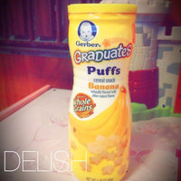 Gerber Graduates Puffs Cereal Snack Peach uploaded by Norlaila T.