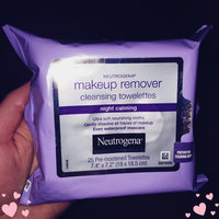 Neutrogena Make-Up Remover Cleansing Towelettes Night Calming uploaded by Melody C.