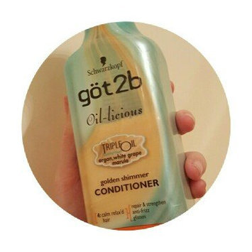 Photo of göt2b® Oil-licious Golden Shimmer Conditioner uploaded by Jamie P.