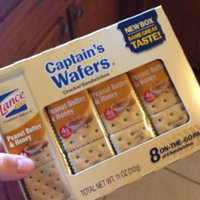 Lance Captain's Wafers Peanut Butter & Honey Crackers - 8 CT uploaded by Ashley L.