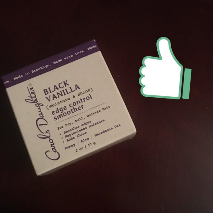Photo of Carol's Daughter Edge Control Smoother, Black Vanilla uploaded by Jessica S.