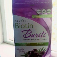 Photo of NeoCell Biotin Bursts Gourmet Biotin Soft Chews, Brazilian Acai Berry, 30 ea uploaded by Maggie N.