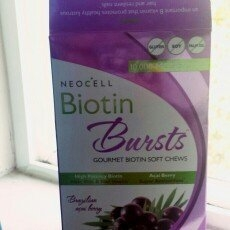 NeoCell Biotin Bursts Gourmet Biotin Soft Chews, Brazilian Acai Berry, 30 ea uploaded by Maggie N.