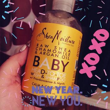 Photo of SheaMoisture Raw Shea Chamomile & Argan Oil Wash & Shampoo uploaded by Yashira O.