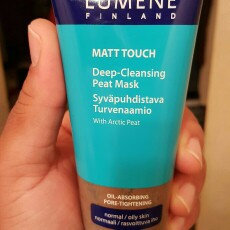 Lumene Matt Touch Deep Cleansing Peat Mask uploaded by Camille S.