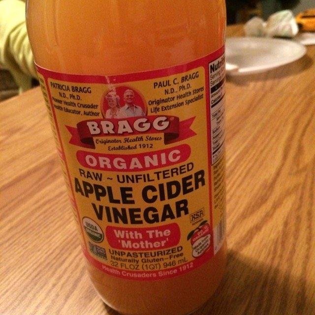 Braggs Organic Apple Cider  Vinegar  uploaded by Heather F.