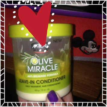 Photo of African Pride Olive Miracle Leave in Conditioner, 15 oz uploaded by Jamie P.