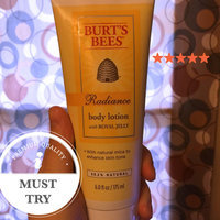 Burt's Bees Radiance Body Lotion with Royal Jelly uploaded by Chelsea S.