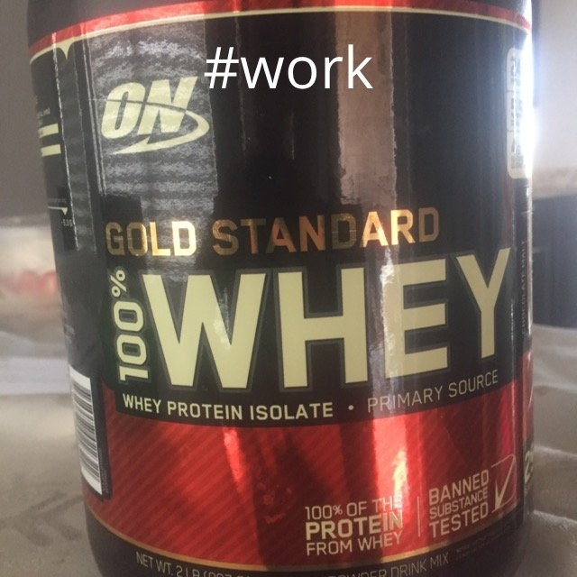 Optimum Nutrition Gold Standard Natural 100% Whey Protein uploaded by vanessa c.