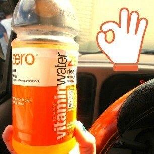 vitaminwater Zero Rise Orange uploaded by ismaray g.