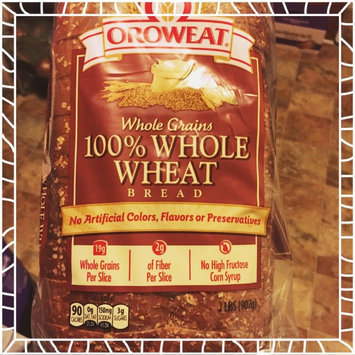 Photo of Oroweat 24-oz. 100% Whole Wheat Bread uploaded by Sarah O.