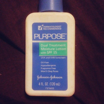 Photo of Purpose Dual Treatment Moisture Lotion SPF 15 Sunscreen uploaded by ShawnandKayla R.