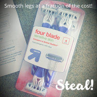 up & up Women's 4 Blade Disposable Razors - 4 ct uploaded by Lecia E.