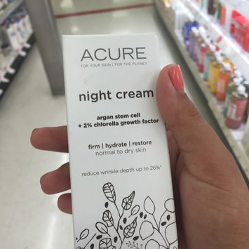 Photo of Acure Organics Night Cream uploaded by Celia A.