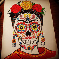 Day of the Dead Coloring Book uploaded by Erica T.
