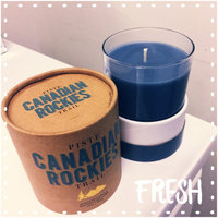 Canadian Rockies Trail Poured Glass Scented Candle by Indigo Scents uploaded by Lesley D.