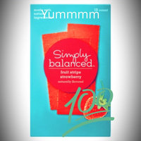 Simply Balanced Strawberry Fruit Strips 10 ct uploaded by Daisy F.