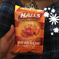 HALLS Honey Cough Suppressant/Oral Anesthetic Menthol Drops uploaded by Bergineliz R.