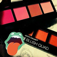2pc City Color Intense Blush Quad Collection set of 2 palette #C0008A uploaded by Samantha k.
