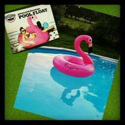 Photo of Big Mouth Toys BigMouth Inc Pink Flamingo Pool float, inflates to over 4ft. wide uploaded by Crystal S.