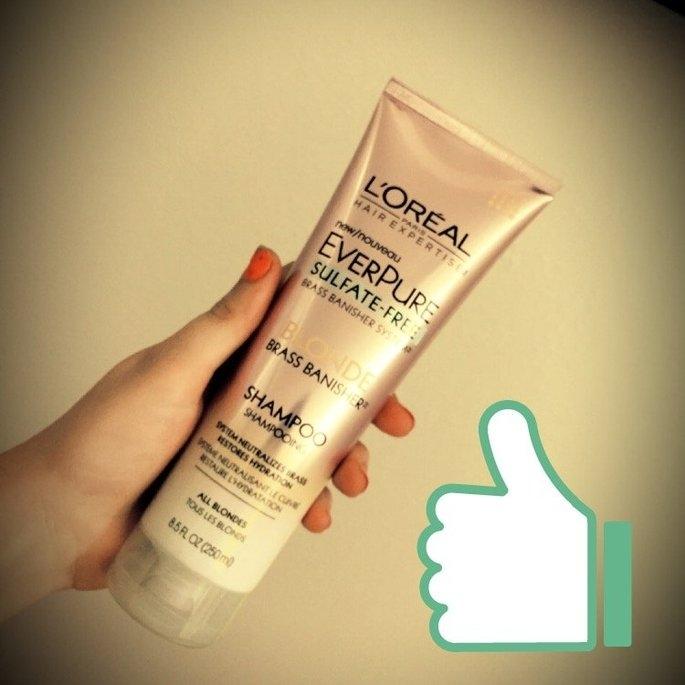 L'Oréal® Paris Hair Expertise™ EverPure Sulfate-Free Blonde Brass Banisher™ Shampoo 8.5 fl. oz. Tube uploaded by Bridgette M.