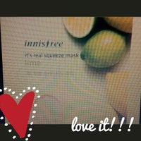 Innisfree - It's Real Squeeze Mask (Lime) 10 pcs uploaded by Arielle S.