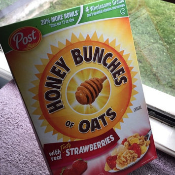 Photo of Post Foods, LLC HNY BNCH OAT STRWBRY 16.5OZ uploaded by Shannon R.