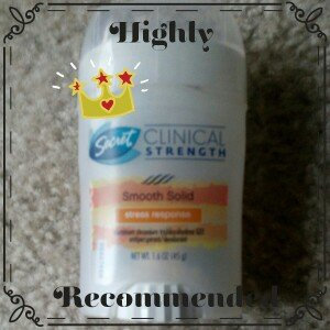 Photo of Secret Clinical Strength Smooth Solid Women's Antiperspirant & Deodorant Stress Response uploaded by Lowanda J.